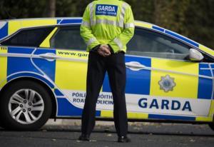 Garda at traffic incident