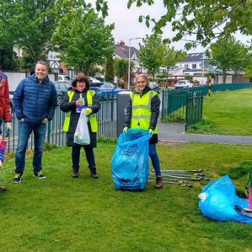Gallops estate clean-up May 2021